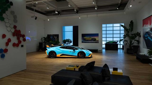 Bên trong câu lạc bộ VIP Lamborghini Lounge: Muốn bước chân vào cửa phải có giấy mời và đang sở hữu siêu xe - Ảnh 3.