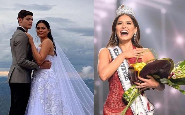Chồng của tân Hoa hậu Hoàn vũ chính thức lên tiếng về bức ảnh cưới - Ảnh 3.