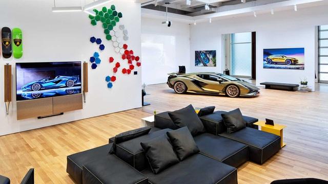 Bên trong câu lạc bộ VIP Lamborghini Lounge: Muốn bước chân vào cửa phải có giấy mời và đang sở hữu siêu xe - Ảnh 10.