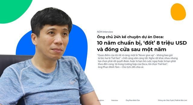 Ông chủ 24h kể chuyện dự án Deca: 10 năm chuẩn bị, 'đốt' 8 triệu USD và đóng cửa sau một năm - Ảnh 1.