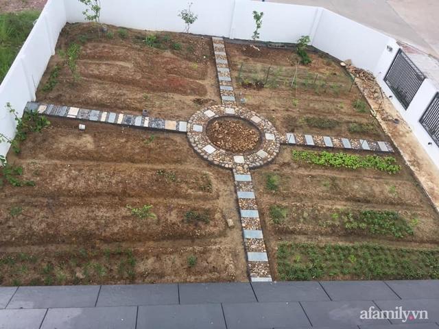 Nông trại rộng 300m² đẹp như cổ tích với đủ loại hoa và rau quả của mẹ 4 con ở Móng Cái, Quảng Ninh - Ảnh 2.