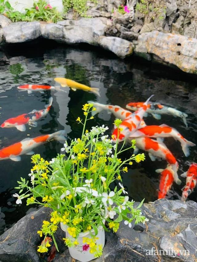 Nông trại rộng 300m² đẹp như cổ tích với đủ loại hoa và rau quả của mẹ 4 con ở Móng Cái, Quảng Ninh - Ảnh 19.