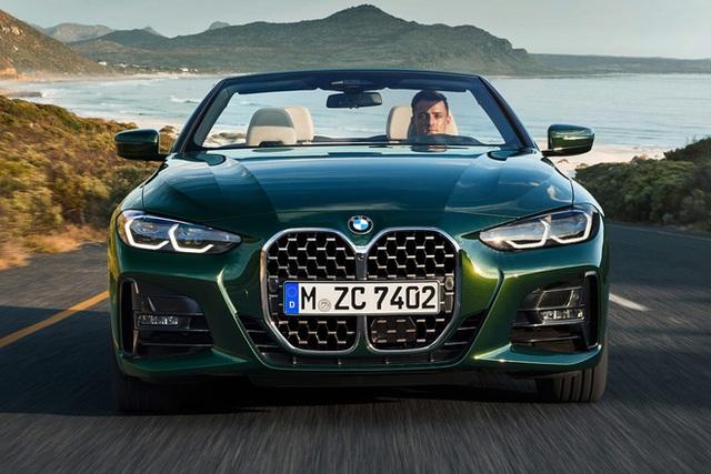 BMW 4-Series 2021 nhận cọc tại Việt Nam: Giá từ hơn 3 tỷ, mui trần, có gói M Sport và lỗ mũi khổng lồ gây chú ý - Ảnh 2.