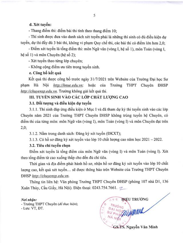 Hà Nội có một trường THPT mà thí sinh cả nước đều mơ ước được vào, nghe tên cựu học sinh là biết trường thuộc đẳng cấp cao - Ảnh 7.