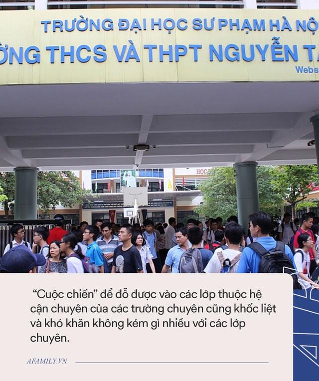 Hà Nội có một trường THPT mà thí sinh cả nước đều mơ ước được vào, nghe tên cựu học sinh là biết trường thuộc đẳng cấp cao - Ảnh 8.