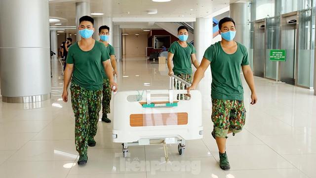 Bệnh viện dã chiến Bạch Mai cơ sở 2 sẵn sàng điều trị bệnh nhân COVID  - Ảnh 4.