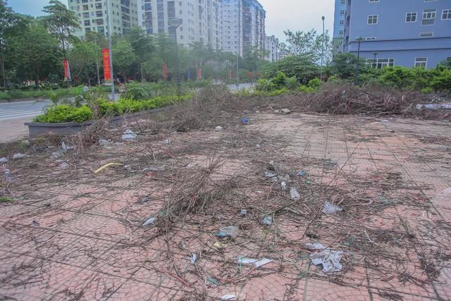 Khu chung cư tọa lạc vị trí đắc địa ở Hà Nội thành nơi tập kết rác  - Ảnh 6.