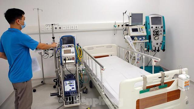 Bệnh viện dã chiến Bạch Mai cơ sở 2 sẵn sàng điều trị bệnh nhân COVID  - Ảnh 6.