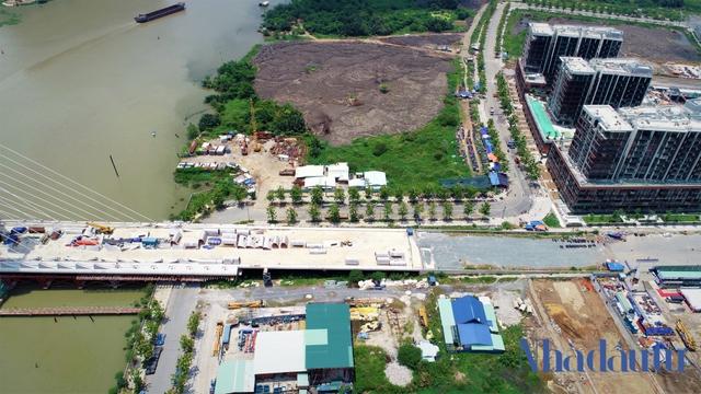 Những công trình nghìn tỷ dang dở tại Khu đô thị mới Thủ Thiêm - Ảnh 4.