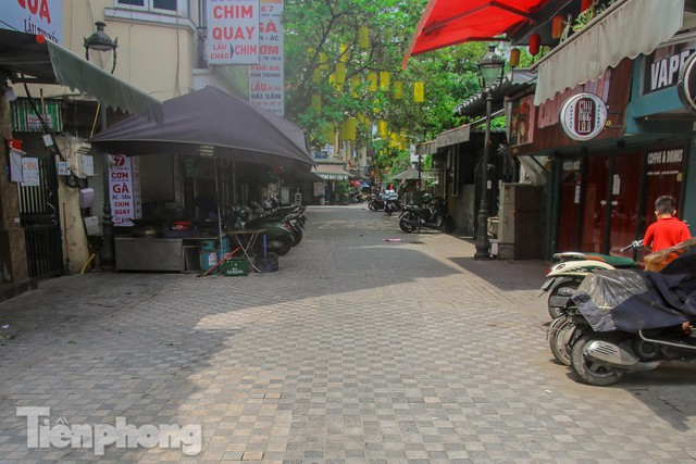 Đường phố, vỉa hè vùng lõi' Thủ đô thay đổi thế nào trước ngày bầu cử?  - Ảnh 15.