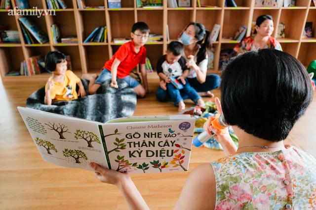 Tổ hợp giáo dục đầu tiên tại Việt Nam: Từ không gian 5 sao, thư viện xịn xò miễn phí đến câu chuyện đồng hành cùng con bằng giáo dục gia đình - Ảnh 19.