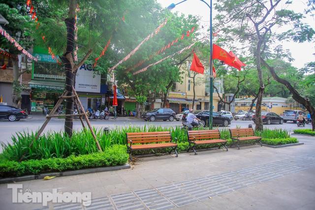 Đường phố, vỉa hè vùng lõi' Thủ đô thay đổi thế nào trước ngày bầu cử?  - Ảnh 4.