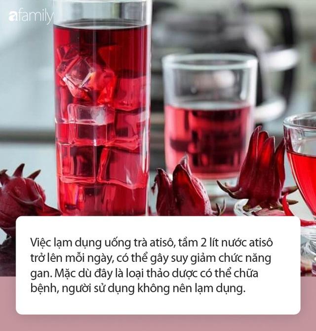 Dùng trà atisô giải nhiệt mùa hè, thải độc, làm đẹp da: Chuyên gia khuyến cáo tuyệt đối không được lạm dụng vì lý do này! - Ảnh 2.
