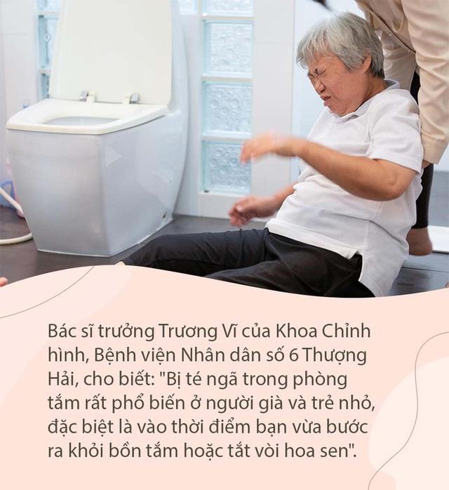 5 mối nguy hiểm trong phòng tắm ít ai để ý tới nhất, đừng để 1 giây bất cẩn mà ân hận cả đời - Ảnh 3.