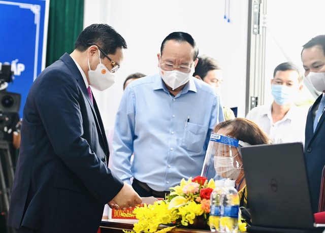 Thủ tướng Phạm Minh Chính bỏ phiếu bầu cử tại Cần Thơ - Ảnh 1.
