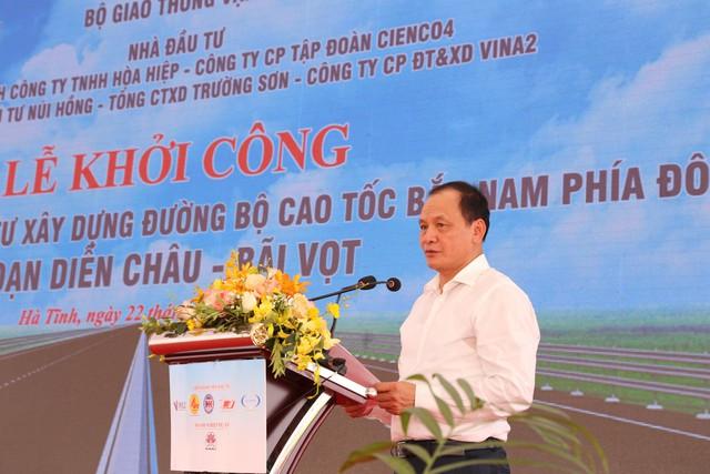 Khởi công dự án cao tốc Diễn Châu - Bãi Vọt với tổng đầu tư hơn 11 nghìn tỷ đồng - Ảnh 2.