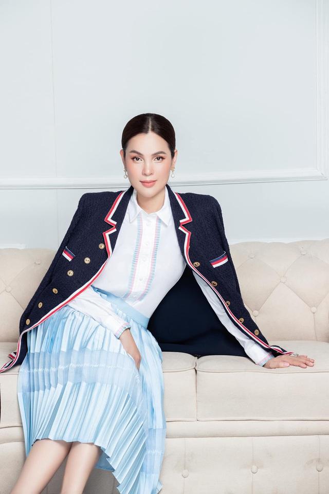 Phỏng vấn hoa hậu Phương Lê giữa ồn ào với Thái Công: Đừng chém gió sự sang trọng, đẳng cấp với người thật sự giàu - Ảnh 2.