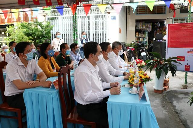 Phó Chủ tịch Thường trực Quốc hội Trần Thanh Mẫn bỏ phiếu tại Cần Thơ  - Ảnh 1.