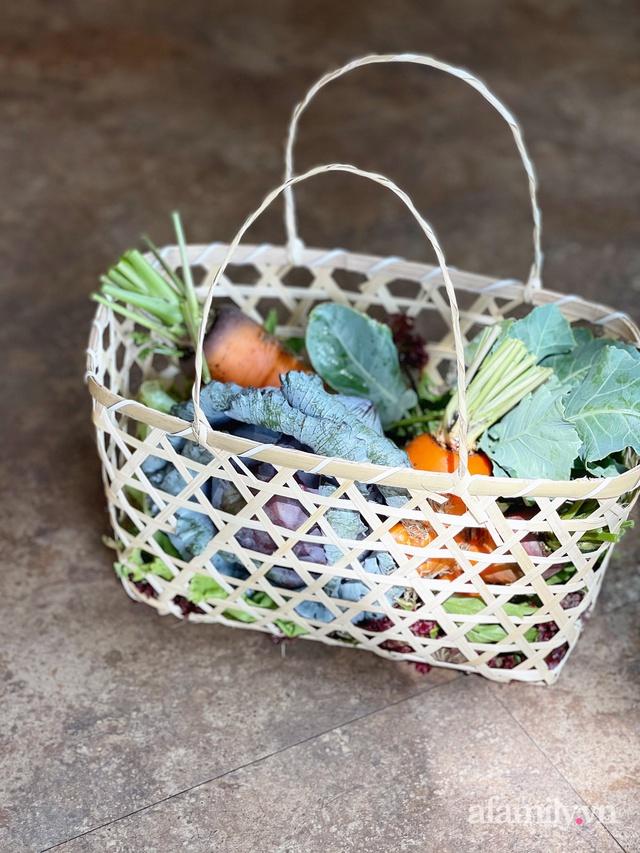 Vườn rau trong thùng xốp với đủ loại cây trái của mẹ 9x trồng cho con thưởng thức ở Buôn Ma Thuột - Ảnh 16.