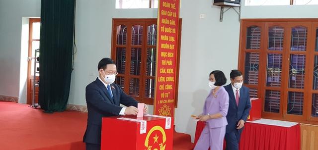 Chủ tịch Quốc hội và Phó Thủ tướng bỏ phiếu bầu cử tại Hải Phòng - Ảnh 3.