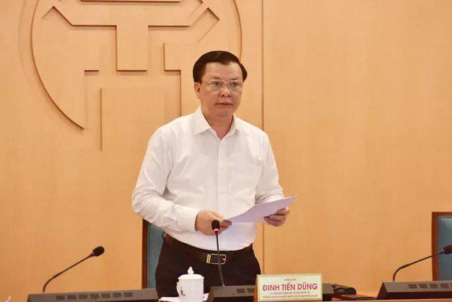 Bí thư Đinh Tiến Dũng: Chưa xem xét giãn cách xã hội toàn thành phố Hà Nội  - Ảnh 1.