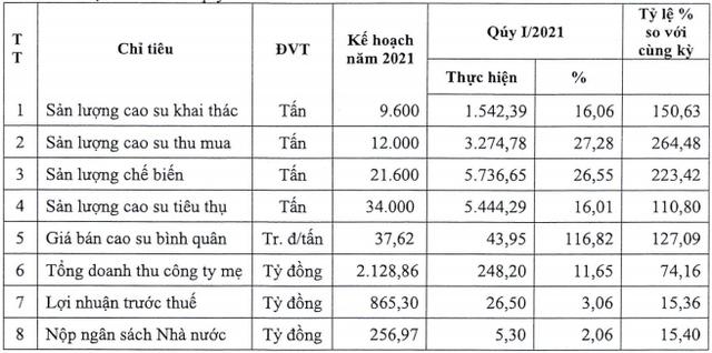 Cao su Phước Hòa (PHR) dự kiến chia cổ tức bằng tiền kỷ lục 45% - Ảnh 1.