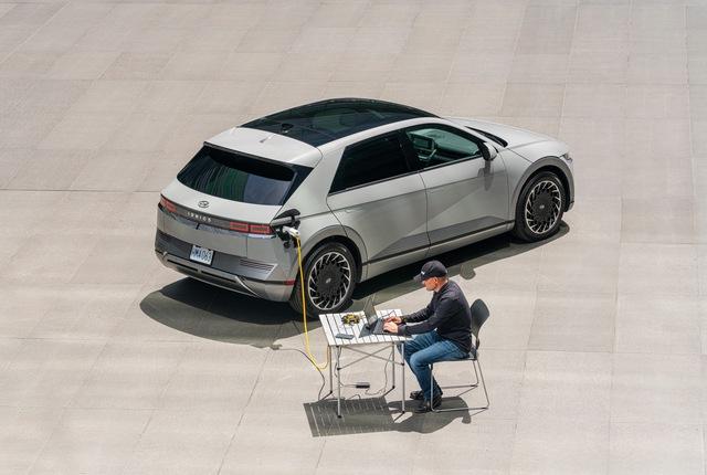 Thêm một mẫu ô tô điện hàng hot Hyundai Ioniq5 2022 sắp bán tại Mỹ - Ảnh 4.