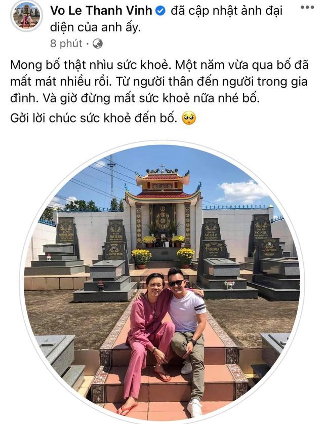 """Con trai ruột NS Hoài Linh đích thân lên tiếng từ Mỹ giữa lúc bố gặp """"sóng gió"""" chuyện tiền từ thiện, lời nhắn nhủ gây xúc động - Ảnh 1."""