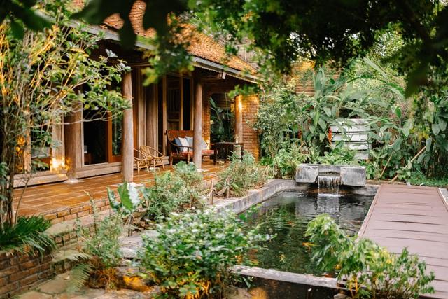 Mê mẩn với căn nhà second-home đẹp đến phát thèm tại ngoại ô Hà Nội, lộ bí quyết nhà đẹp quanh năm chỉ với 0 đồng của chủ nhà - Ảnh 2.