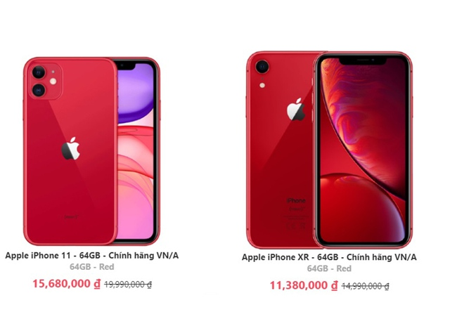 Nhiều mẫu iPhone giảm giá tiền triệu tại Việt Nam - Ảnh 1.