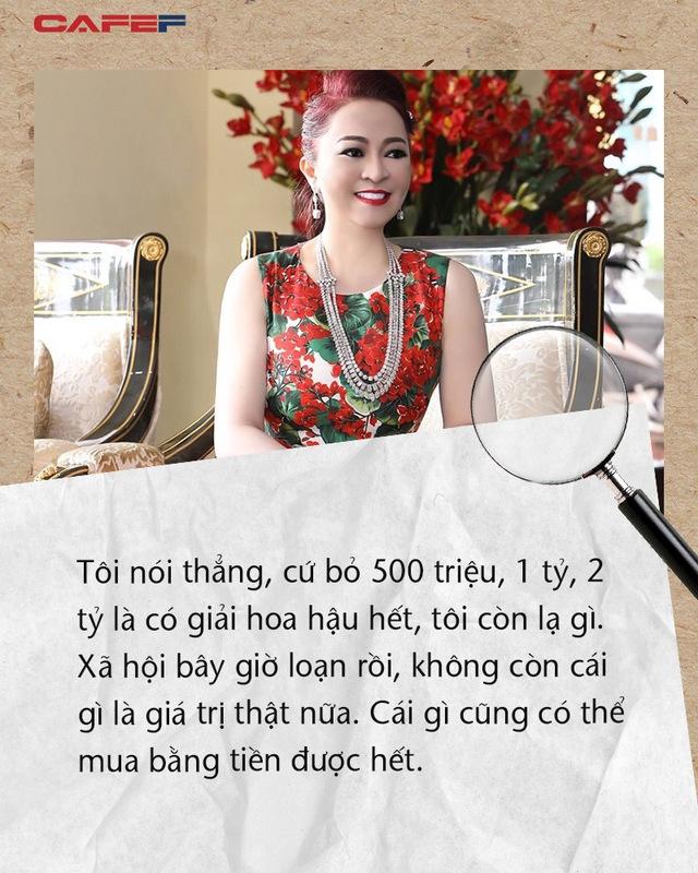 Những phát ngôn dậy sóng dư luận của đại gia Phương Hằng: Im lặng là vàng, còn tôi nói ra tôi mới là kim cương - Ảnh 6.