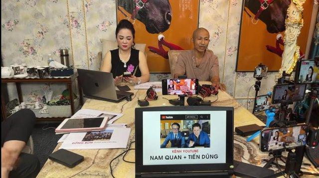 Ê-kíp hùng hậu đứng sau những livestream khủng của doanh nhân Phương Hằng - Ảnh 2.