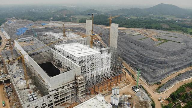 Cận cảnh nhà máy đốt rác Sóc Sơn 7.000 tỷ sắp đi vào hoạt động  - Ảnh 6.