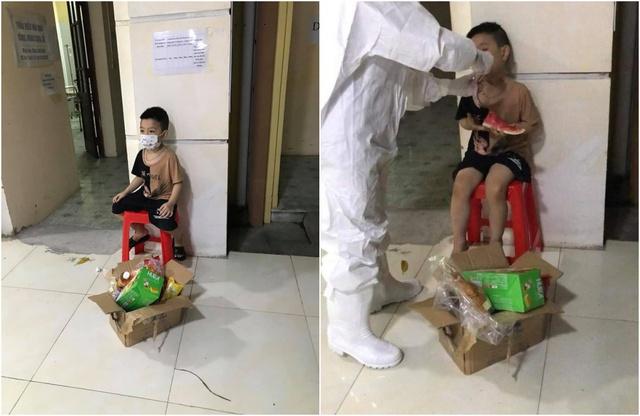 Xót xa hình ảnh bé gái F0 nhảy chân sáo trước giờ xa bố để tới bệnh viện điều trị một mình: Cố lên các chiến binh nhỏ, rồi mọi chuyện sẽ vượt qua thôi! - Ảnh 3.