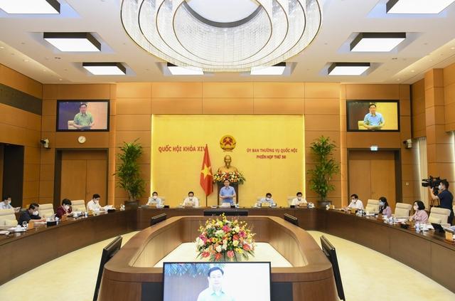 Chủ tịch Quốc hội Vương Đình Huệ: Tỷ lệ cử tri đi bầu đạt 99,57%, đã bầu đủ 500 đại biểu Quốc hội khóa XV - Ảnh 2.