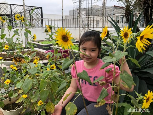 Vườn rau quả sạch 100m² trên mái nhà của mẹ 3 con ở Hà Nội - Ảnh 13.