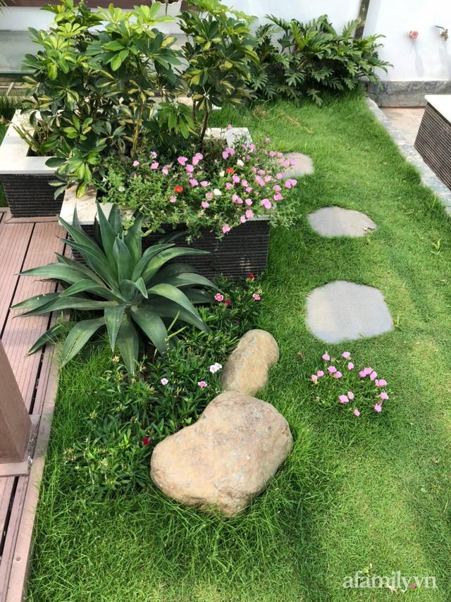 Vườn rau quả sạch 100m² trên mái nhà của mẹ 3 con ở Hà Nội - Ảnh 4.