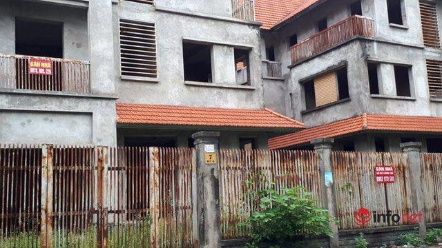 Khu đô thị ma la liệt biệt thự, nhà không người hoang vu ở Hà Nội - Ảnh 5.