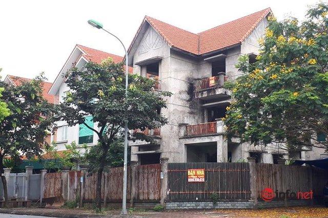 Khu đô thị ma la liệt biệt thự, nhà không người hoang vu ở Hà Nội - Ảnh 10.