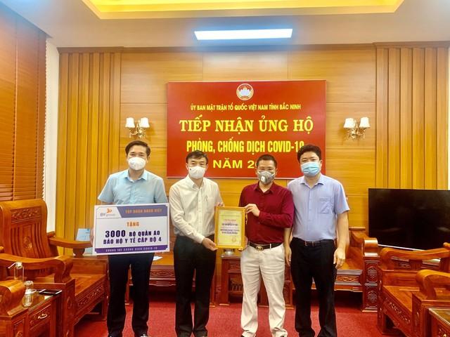 Nhiều doanh nghiệp bất động sản chung tay ủng hộ Bắc Giang, Bắc Ninh chống dịch - Ảnh 1.