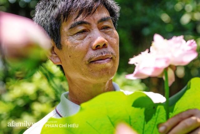 Đôi vợ chồng sở hữu căn nhà cổ 100 năm tuổi tại Hà Nội, sưu tập hàng trăm gốc sen cung đình Huế quanh nhà, ai đi qua cũng phải trầm trồ - Ảnh 10.