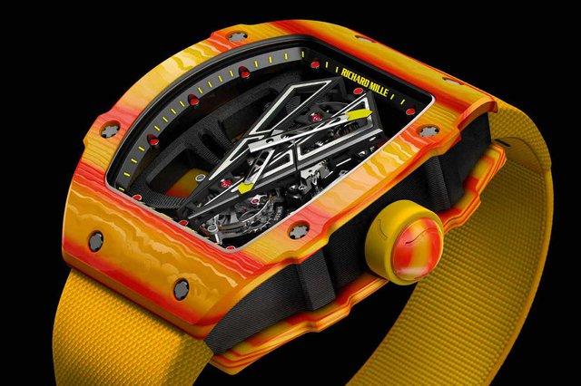 Siêu phẩm đồng hồ RM 27-03 gắn liền với vua đất nện Rafael Nadal: Richard Mille chỉ sản xuất giới hạn 50 chiếc, Việt Nam cũng có đại gia bỏ 30 tỷ VNĐ để tậu về - Ảnh 3.