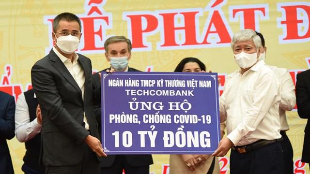 Vạn Thịnh Phát ủng hộ 450 tỷ, Sunny World, Vietcombank, Techcombank, TNG Holdings, MB, SCB, Khang Điền, TH True Milk...chung tay chống dịch - Ảnh 3.