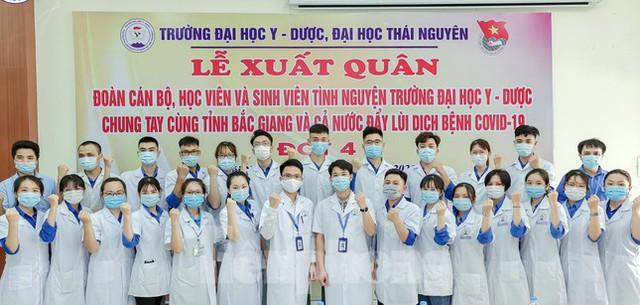 Hơn 100 tình nguyện viên Y Dược Thái Nguyên chi viện Bắc Giang đẩy lùi COVID-19  - Ảnh 2.