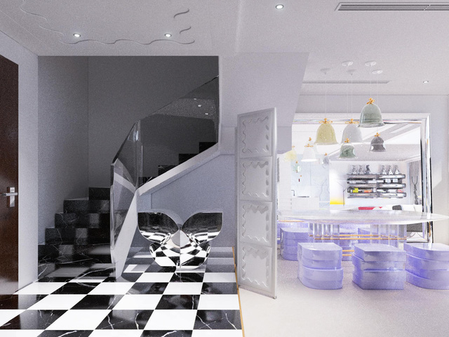 Ấn tượng với không gian căn penthouse duplex của NTK thời trang nổi tiếng: Một ngôi nhà mang năng lượng tích cực, vừa kích thích cảm giác tự do sáng tạo vừa có không gian riêng tư - Ảnh 7.