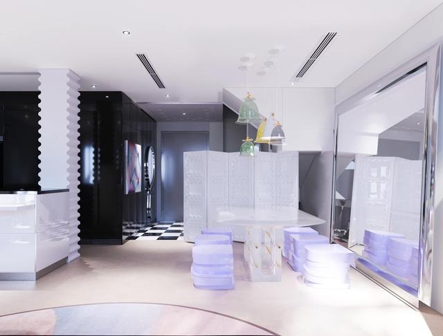 Ấn tượng với không gian căn penthouse duplex của NTK thời trang nổi tiếng: Một ngôi nhà mang năng lượng tích cực, vừa kích thích cảm giác tự do sáng tạo vừa có không gian riêng tư - Ảnh 8.