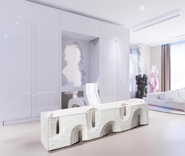 Ấn tượng với không gian căn penthouse duplex của NTK thời trang nổi tiếng: Một ngôi nhà mang năng lượng tích cực, vừa kích thích cảm giác tự do sáng tạo vừa có không gian riêng tư - Ảnh 13.
