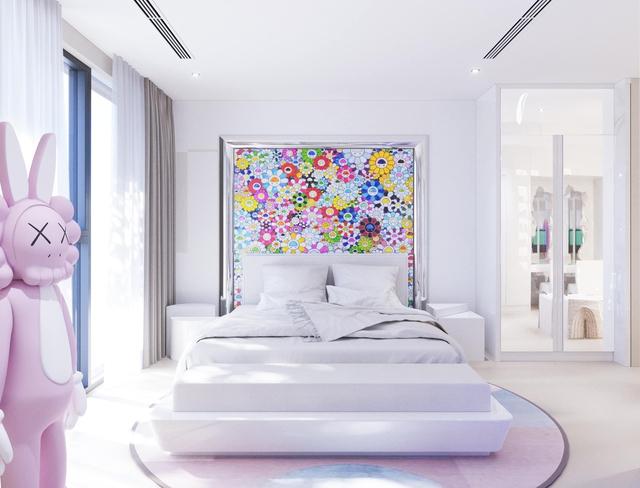 Ấn tượng với không gian căn penthouse duplex của NTK thời trang nổi tiếng: Một ngôi nhà mang năng lượng tích cực, vừa kích thích cảm giác tự do sáng tạo vừa có không gian riêng tư - Ảnh 14.