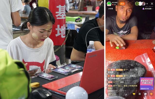 Đổ thạch online: Khi những con bạc Trung Quốc lao vào cuộc chơi cược đá trên livestream - Ảnh 3.