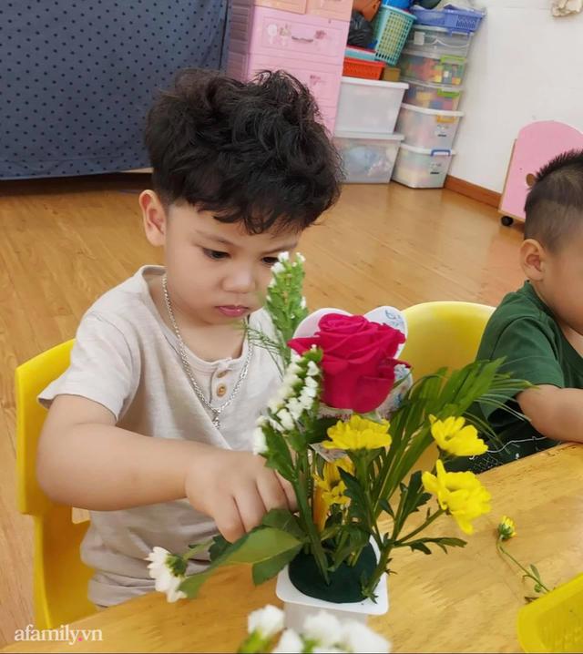 Mẹ Sài Gòn review trường mầm non ai nghe cũng mê: Trường có vườn rau, hồ cá, bé được học nhiều kỹ năng nhưng học phí thì dưới 2 triệu đồng - Ảnh 10.